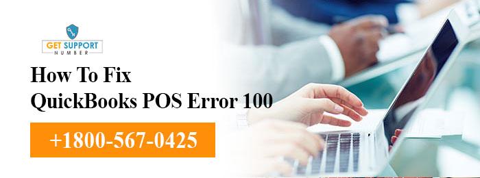 How To Fix Quickbooks POS Error 100