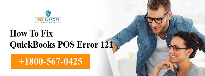 How To Fix QuickBooks POS Error 121