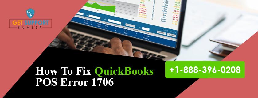 How To Fix QuickBooks POS Error 1706