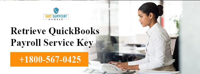 Retrieve QuickBooks Payroll Service Key